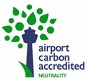 graphic of Airport Carbon Accredited Neutrality