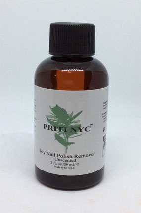 2 oz bottle of soy nail polish remover