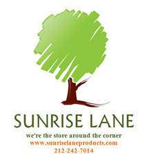 graphic of Sunrise Lane Green Products logo